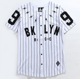 MCCKLE Mens BROOKLYN 99 Printed Striped T-shirt Hip Hop Short Sleeve Shirts 2020 Spring Summer Unisex Casual Tshirt
