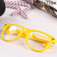 On-mainstream eyeglass frame Mouth small pepper frame Fashion flat mirror
