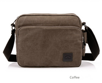 Manufacturer number of new canvas bag package bag retro trend of men's business Metrosexual inclined shoulder bag foreign trade package