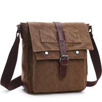 New Korean style casual canvas man bag practical business single shoulder slanted cross package for men's backpack