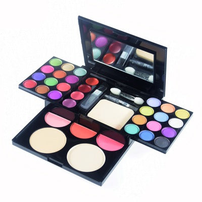 Manufacturers supply Edith 33 color eye shadow make-up suit combination easy to make up makeup cosmetics suit