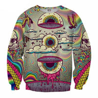 Twisted Psychedelic Sweatshirt