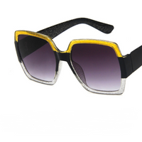Colorful glitter sunglasses retro sunglasses