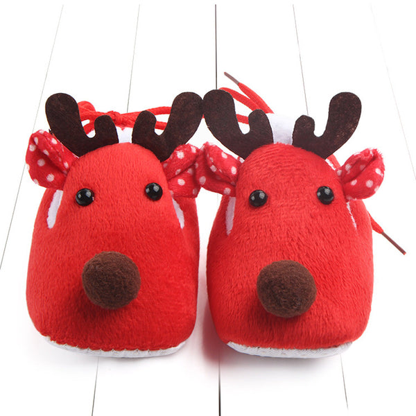 Winter children footwear Booties Sneakers for children slippers Baby Boy Girl Christmas Anti-slip Crib Shoes Children's shoes