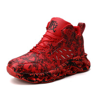 High top basketball shoes sneakers