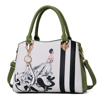 2020 new fashion handbags, fashion bags and bags of leisure on behalf of a single shoulder bag