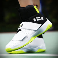 Professional Basketball Shoes Lebron James High Top Gym Trainer Boots Ankle Boots Outdoor Men Sneakers Athletic Sport Shoes
