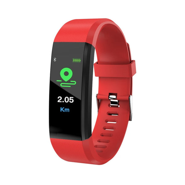 115 Plus Bluetooth Smart Watch Heart Rate Monitor Smart Watch Fitness Tracker Bracelet Waterproof Smart Wristband