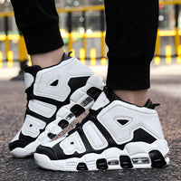 Basketball Shoes Men Air Sports Shoes High Tops Mens Basketball Sneakers Athletics Basket Shoes Chaussures de basket Black shoes