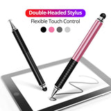 Universal 2 in 1 Stylus Drawing Tablet Pens Capacitive Screen Caneta Touch Pen for Mobile Android Phone Smart Pencil Accessories