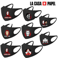 Salvador Dali Masks Movie The House of Paper La Casa De Papel Cosplay costume Accessories Adult Mask Money Heist Costume