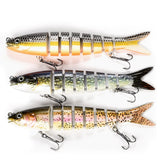 Fishing Lures For Dropshipping Multi Jointed Swimbait 8 6 Segement Wobblers Pike Tackle for Bass Trout  Crankbait Lures