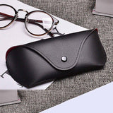 MINIMUM PU Leather Glasses Case Cover Sunglasses Glasses Holder Box Eyeglasses Solid Storage Box Light PU Sunglasses Pouch Bag