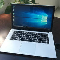 New 15.6 Inch Win10 Ultra-thin Laptop Quad-core Notebook Computer 8GB 128GB 2.30 GHz Laptop Computer