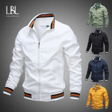 Mens Fashion Jackets and Coats New Men's Windbreaker Bomber Jacket 2020 Autumn Men Army Cargo Outdoors Clothes Casual Streetwear