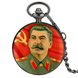 Stalin Pocket Watch for Men ссср Pendant Watches Ussr Clock of Victory Necklace Women Gift Meaningful Souvenir reloj de bolsillo
