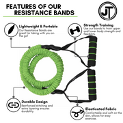 JT Resistance Band with handle