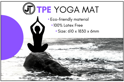 NEW TPE Yoga Mat  IN STOCK NOW!