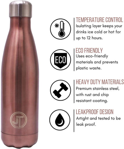 JT Stainless Steel Water Bottle