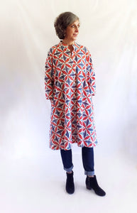 ISABELLA DRESS in Ottoman Tile