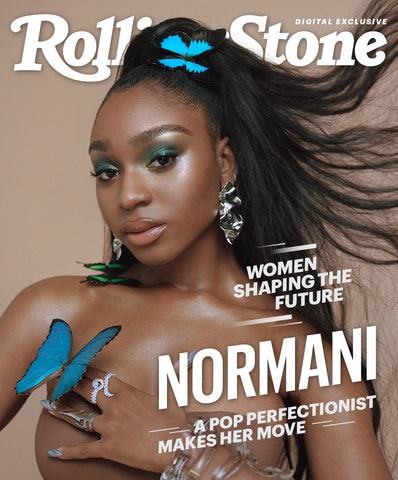 Rolling stone cover with Normani. Hair by Yusef using the Y by Yusef