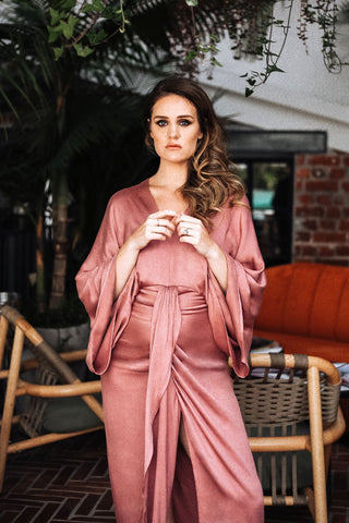 Quest Dress | Dusty Rose