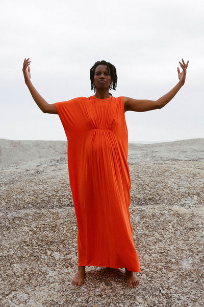 Arc Dress | Orange Blaze
