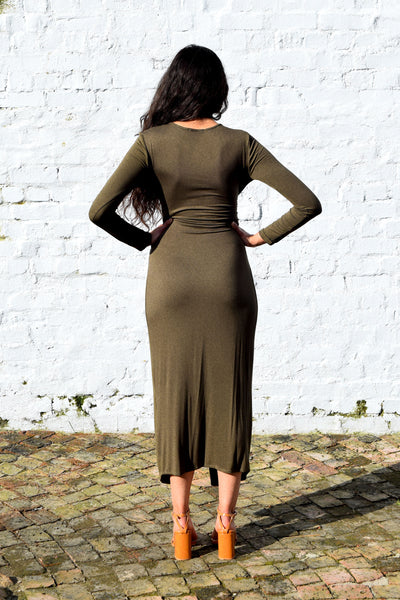 Daze Dress | Khaki Green