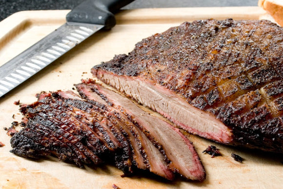 Pit Smoked Sliced Brisket (2lb)