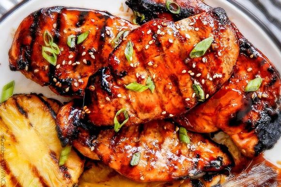 Pineapple teriyaki chicken breast (1.5lb)