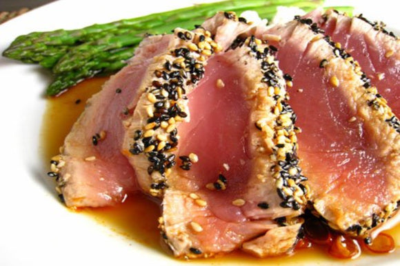 Ahi Tuna Steaks AAA Grade (7-9oz)  Skin off