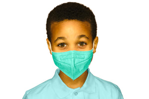 The LL95 Face Mask - American Made KN95 Equivalent for Kids (5 masks/pack)