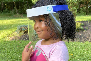 Mini Face Shield for Kids Ages 2-6