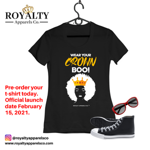 Wear Your Crown Boo T-shirt