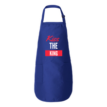 Load image into Gallery viewer, Kiss the King Full Apron w/Pockets