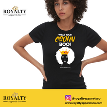 Load image into Gallery viewer, Wear Your Crown Boo T-shirt