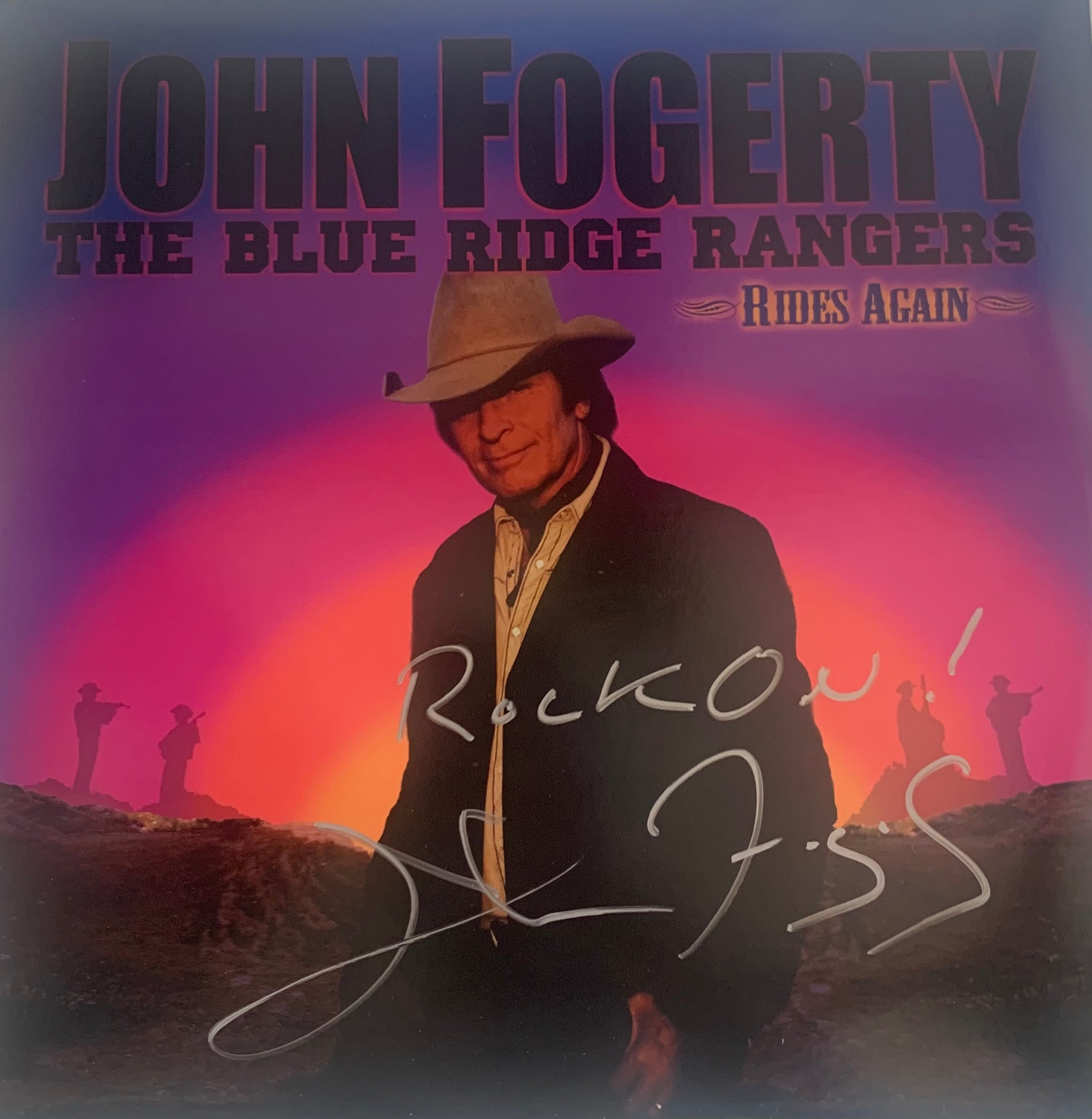 The Ultimate Fogerty Vinyl Collection- All autographed by John Fogerty