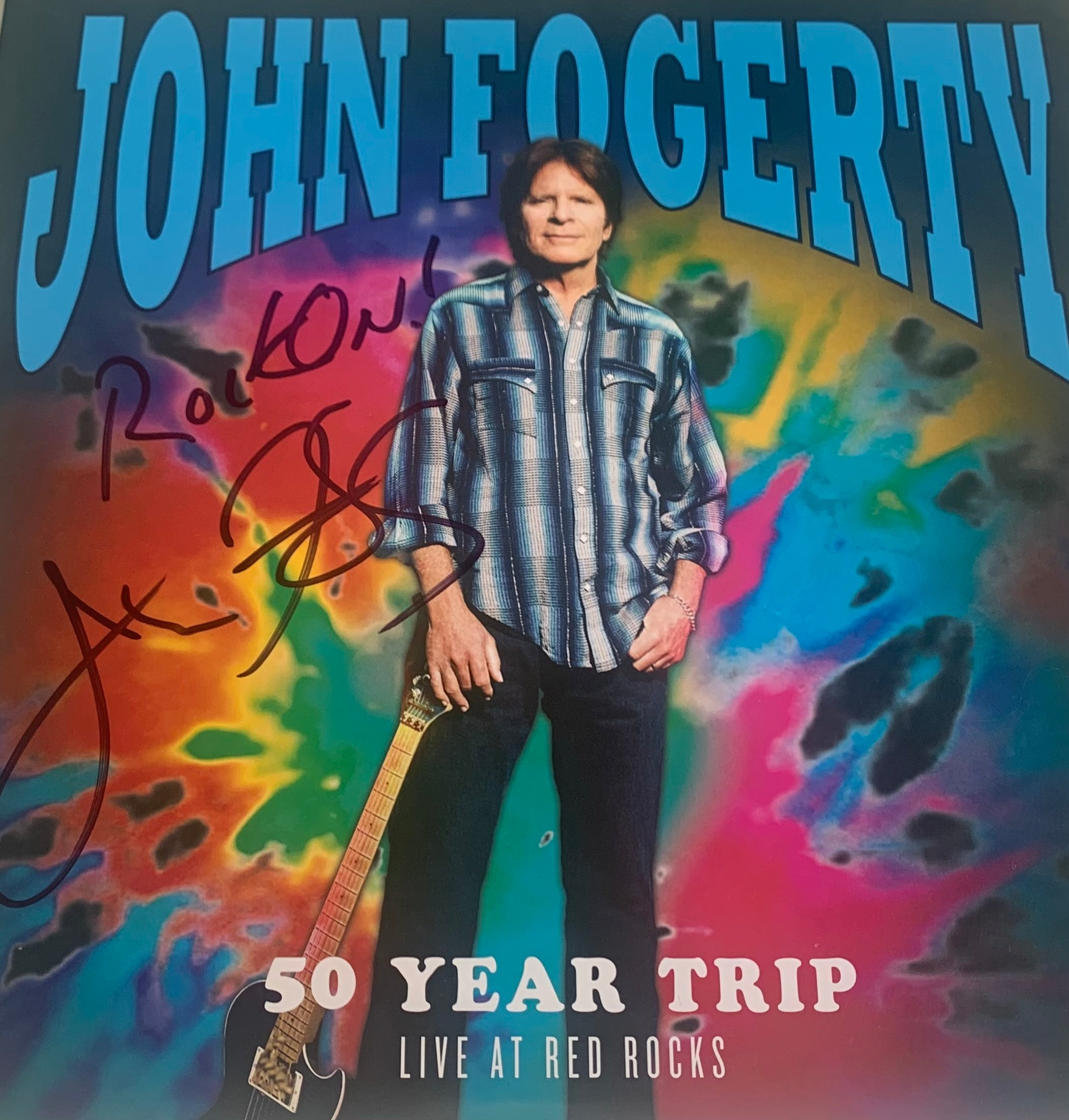 50 Year Trip- Live at Red Rocks Vinyl (Signed By John Fogerty)