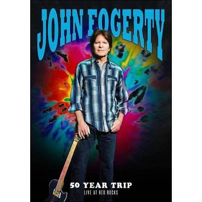 John Fogerty 50 Year Trip Live At Red Rocks DVD