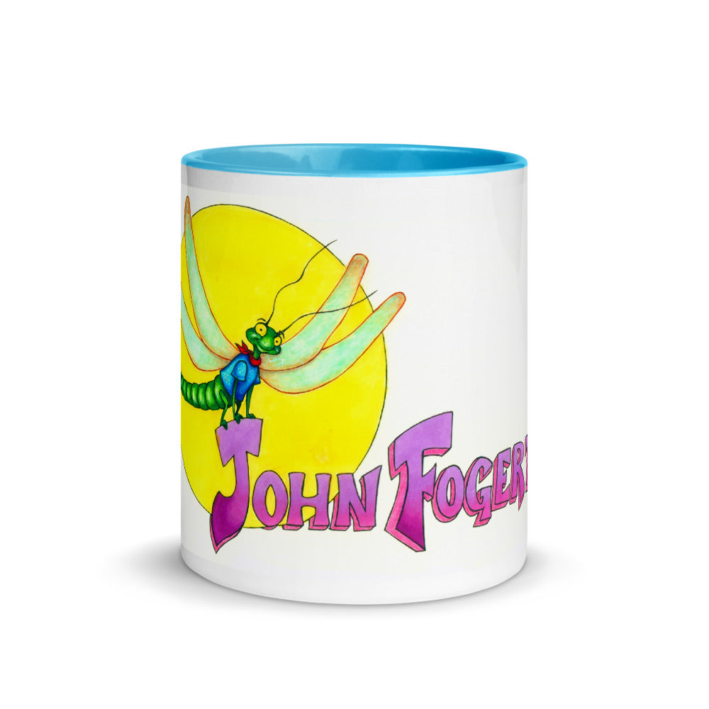 John Fogerty Dragonfly Mug with Color Inside