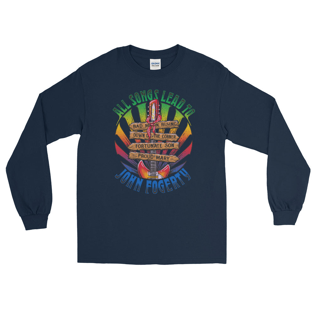 All Songs Lead To Fogerty Long Sleeve Tee