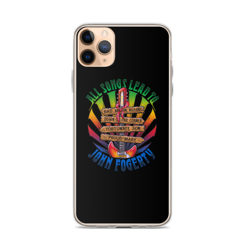 All Songs Lead To Fogerty iPhone Cases
