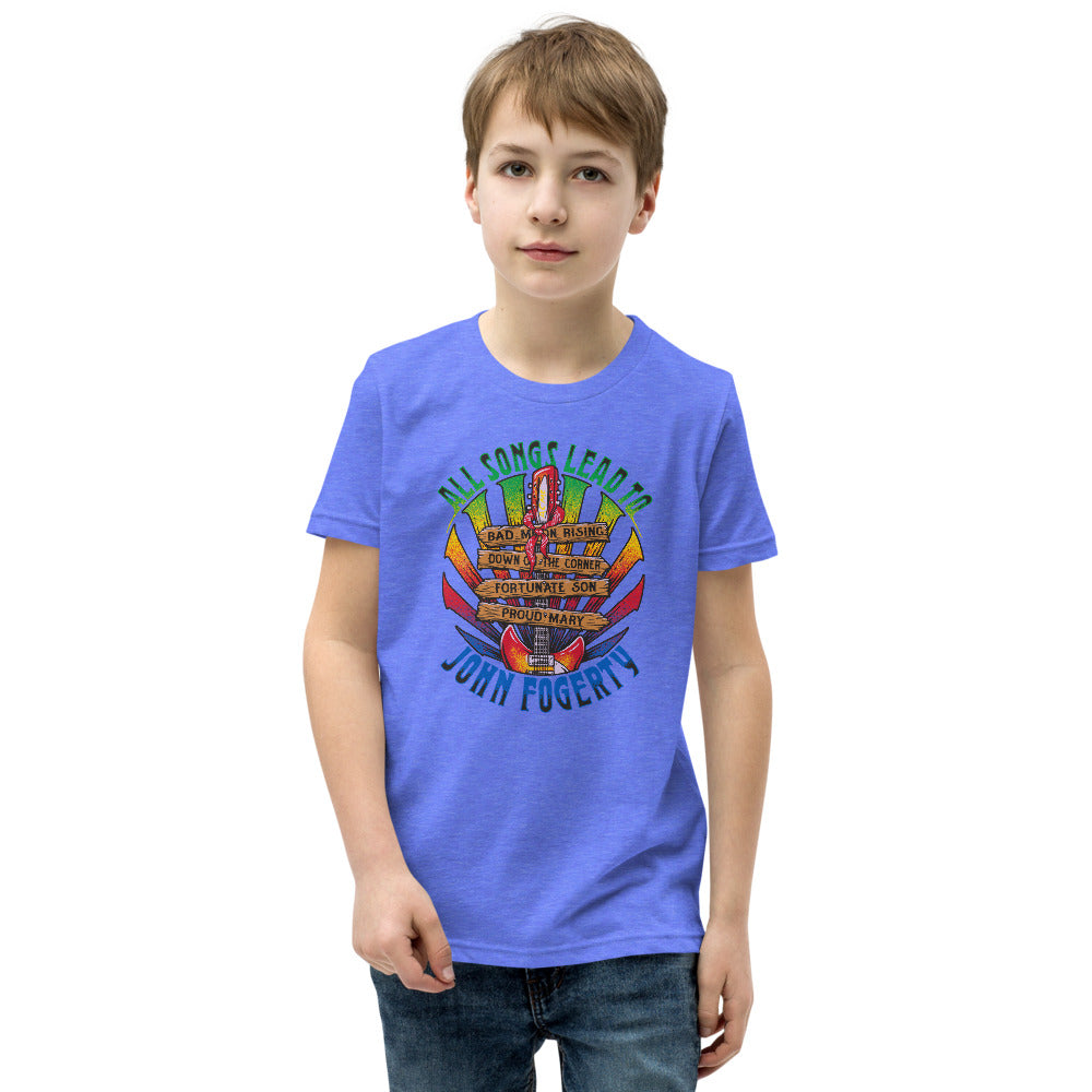 All Songs Lead To Fogerty Youth Tee