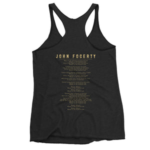 Weeping In The Promised Land Women's Racerback Tank