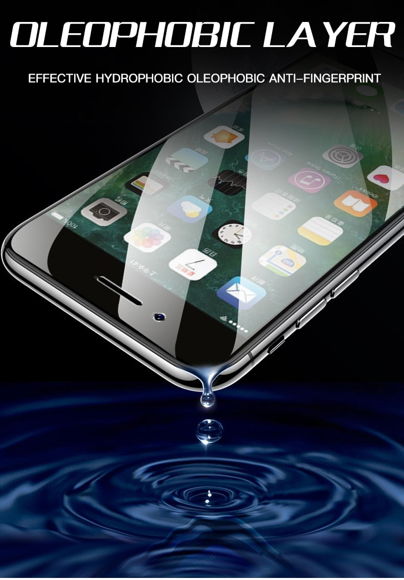 3-PIECE Full Cover Glass For iPhone | Glass Screen Protector