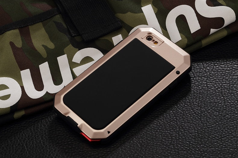 iPhone Shockproof Full Protective Metal Bumper Cover | HEAVY DUTY
