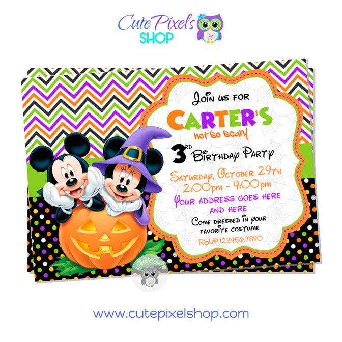 Mickey-Halloween-Invitation-Style04