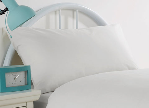 Camden White Pillowcases - STAR LINEN UK