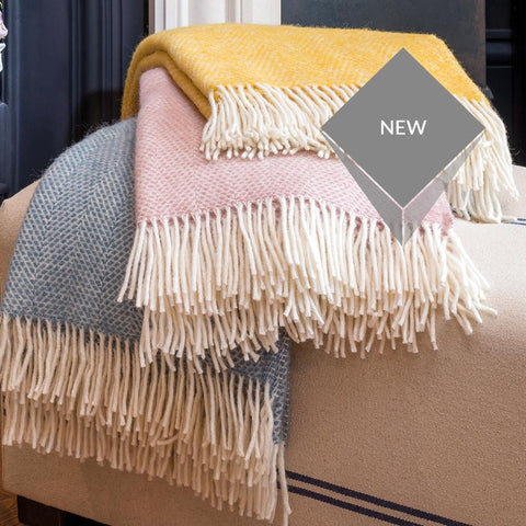 Conwy Blankets - STAR LINEN UK