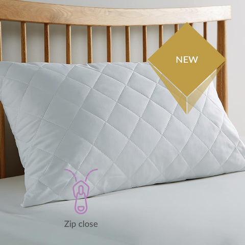 Greenway Zipped Pillow Protector - STAR LINEN UK